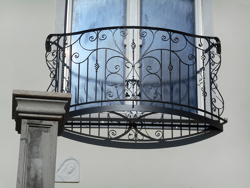 Ringhiere per balconi e scale in ferro e acciaio inox - Prezzi scale in ferro ...